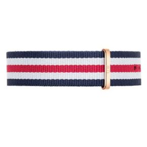 Wristband Classic Canterbury: Rosé- eller Silver-spänne-0