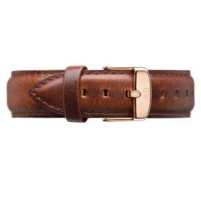 Wristband Classic St Mawes: Rosé- eller Silver-spänne-0