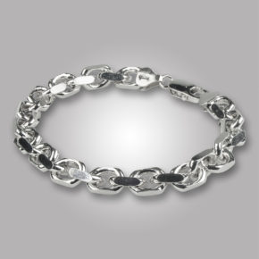 Silver armband -0