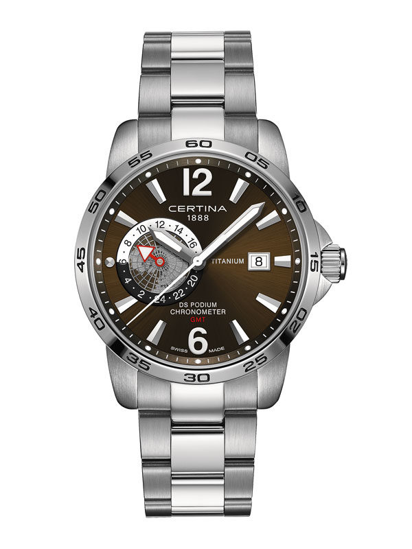 DS Podium Titanium GMT COSC Chronometer-0