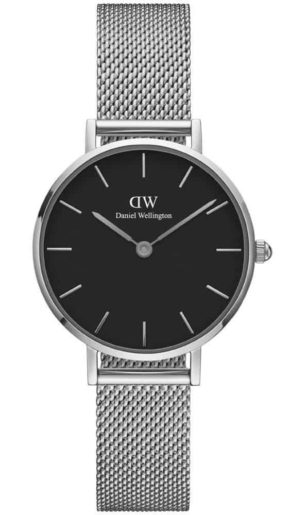 Classic Petite 28mm Sterling Black Silver-0