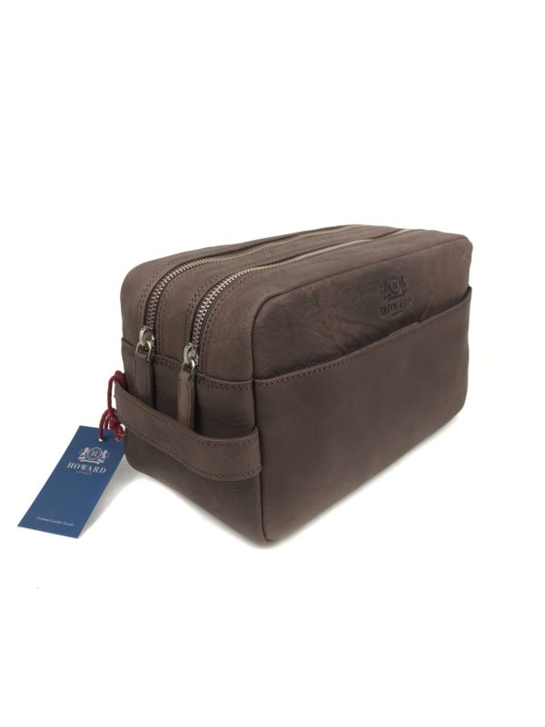 Howard Washbag - Dark Brown-0
