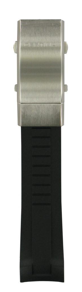 Certina Svart syntetarmband inkl lås-0