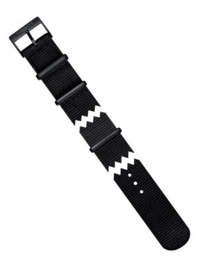 Tissot Quickster Black Synthetic Nato Strap 19mm-0
